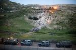 سقوط صاروخ أطلق من سوريا في مرتفعات الجولان