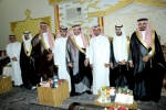 """بحضور محافظ القريات : رئيس مركز الحماد يحتفل بزواج أخيه """"مساعد"""""""