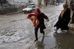وفيات جراء الأمطار بالبحيرة والغربية شمالي مصر