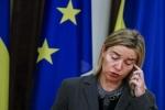 """مسؤولة اوروبية:يمكن البدء في """"عملية"""" للتوصل إلى تسوية للأزمة السورية"""