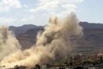معارك بمحافظتي صنعاء والجوف وغارات للتحالف بتعز