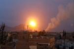 المقاومة تتقدم بالضالع وغارات للتحالف على صنعاء