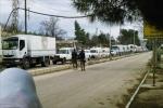 مساعدات جديدة تصل إلى مضايا والزبداني