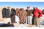 """فريق """"سماوي الإمارات"""" يصل شمال المملكة لإستقبال الزائر الأبيض"""