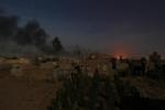 التحالف يقصف معسكر النهدين وألوية الصواريخ