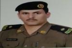 قائد دوريات الأمن بمحافظة القريات عبدالرحمن دحيميل الشراري إلى رتبة مقدم