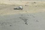 مقذوف عسكري يصيب 5 موظفين في جمرك منفذ الطوال