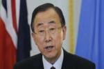 بان جي مون: من الصعب نشر مراقبين في سوريا للإشراف على وقف إطلاق النار