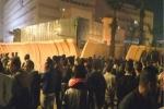 تجمهر قرب أمن القاهرة احتجاجا على مقتل شخص برصاص شرطي