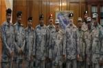 قائد حرس الحدود بمنطقة الجوف يقلد عدداً من ضباط الصف رتبهم الجديدة