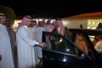 وكيل امارة الجوف يزور الشيخ سعيد اللحاوي في منزله