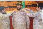 سويلم شليويح الشراري إلى رتبة مقدم بالقوات البرية