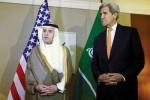 """""""الجبير"""" و""""كيري"""" يطالبان بتطبيق شامل للهدنة في سوريا"""