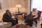 الجبير يعقد اجتماعاً ثنائياً مع منسق الهيئة العليا للمفاوضات السورية