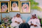 """الشاعر """" الريضه"""" يستقبل طاقم برنامج الموروث الشعبي الذي تبثه القناة السعودية الأولى"""
