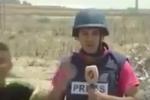 """بالفيديو.. مراسل تلفزيون """"الأسد"""" يسب طفلاً فلسطينياً على الهواء"""