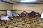 آل الشيخ يقدم واجب العزاء لأسرة الفقيد الرويلي