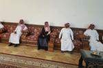آل الشيخ والتمياط يعزيان عائلتي السحتي والسومه