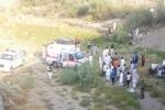حادث سقوط سيارة من أعلي كوبري شمال محايل يودى بحياة مواطن وإصابة اخرين