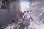 النظام يحكم حصار حلب ويقصف في غوطة دمشق