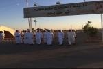 م . القحطاني يقف على سير العمل بمدينة الحجاج بمدينة ابو عجرم