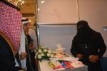الإعلامية وعد عبيد تشارك في معرض إبداعي