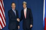 كيري ولافروف يتفقان على تمديد الهدنة بسوريا 48 ساعة