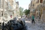 """الصراع السوري: المدنيون المحاصرون في شرقي حلب يعيشون """"في جحيم"""""""