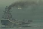 أسطول روسيا المتجه لسوريا.. دخان يتصاعد من المدمرة كوزنتسوف
