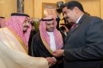 خادم الحرمين يستقبل الرئيس الفنزويلي ويعقد معه جلسة مباحثات