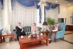 أمير الجوف يستعرض مع وزير الإسكان إنجاز 970 وحدة سكنية