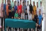 وفد من طلاب جامعة الجوف يشارك في ملتقى الإعلاميين الثاني بالرباط