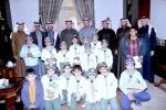 محافظ القريات يستقبل طلاب مدرسة الإمام مسلم الإبتدائية وطلاب فصول الصم والبكم بنفس المدرسة