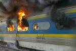تصادم قطاري ركاب في إيران وسقوط عدة قتلى