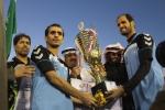 أمين منطقة الجوف يتوج فريق نجوم أبو عجرم أبطالا لبطولة النخبة بالاضارع
