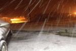 بالصور : هطول أمطار وتساقط خفيف للثلوج على محافظة القريات والمراكز التابعة لها