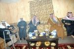 محافظ القريات يطمئن على صحة محمد الحراث ويعزي أسرة المشعان