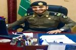 """عبدالكريم خالد السرحاني إلى رتبة """"رائد"""" بشرطة القريات"""