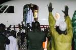 يحيى جامع يغادر غامبيا بعد موافقته على التخلي عن السلطة