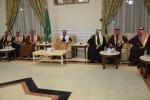 محافظ القريات يستقبل أعضاء مجلس جمعية البر الخيرية بالحديثة