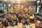 مدير شرطة الجوف يكرم مجموعة من ضباط الصف والجنود