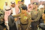 مدير الأمن العام يعزي بالشهيد الجندي اول : فهد قاعد الرويلي