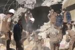 عشرات القتلى بقصف روسي مسجدا بريف حلب