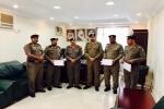 مدير شرطة طبرجل يكرّم مدير شرطة مركز ميقوع وعدد من الأفراد