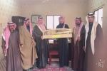 تكريم رئيس مركز طلعة عمار من قبل الأهالي تقديرا لجهوده المبذوله