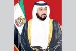 الشيخ خليفة ينعى نائب حاكم الفجيرة ويأمر بتنكيس الأعلام في الدولة وإعلان الحداد لمدة 3 أيام
