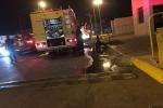 موقوف يشعل النار داخل قسم شرطة بمنطقة تبوك ويصيب 4 أشخاص