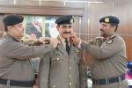 مدير شرطة القريات يقلد العقيد الشراري رتبة عميد