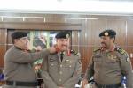 مدير شرطة القريات يقلد العقيد المصلوخي رتبة عميد