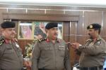 مدير شرطة القريات يقلد المقدم العنزي رتبة عقيد